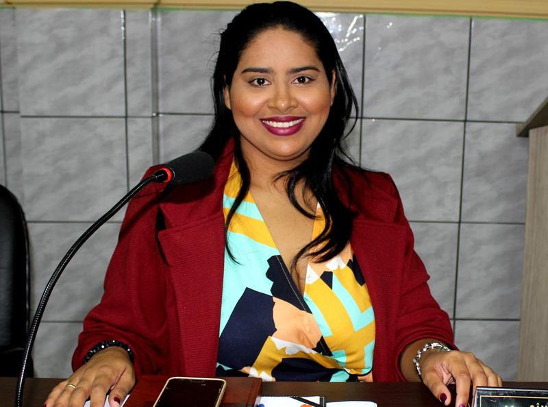 Vereadora Rebeca Melo pleiteia novos benefícios para a cidade (Foto: Reprodução/Jailton Rodrigues)