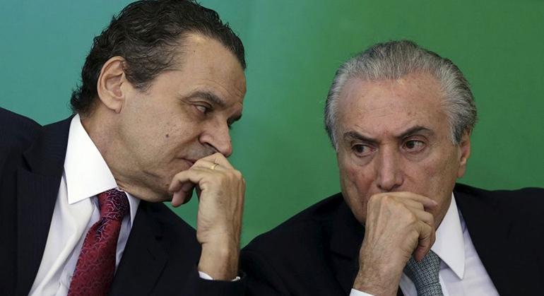 Henrique Alves nega participação em reunião com Michel Temer (Foto: Reprodução)