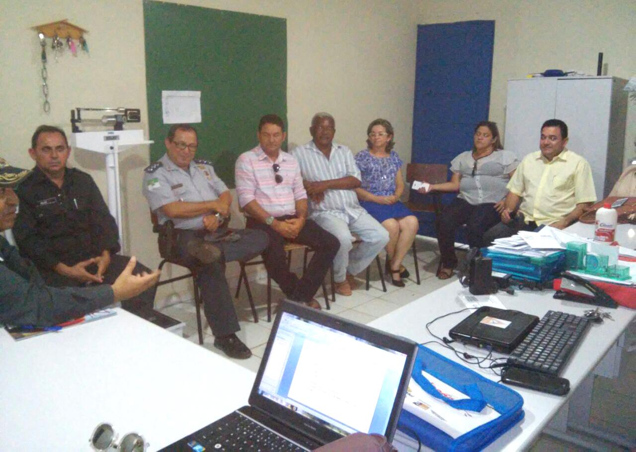 Prefeito Bibiano participou da reunião de implantação do programa