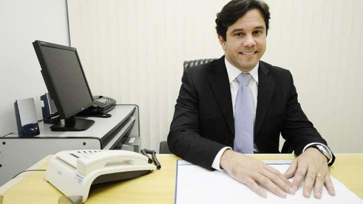 Diretor presidente da Caern, Marcelo Toscano (Foto: Elisa Elsie)