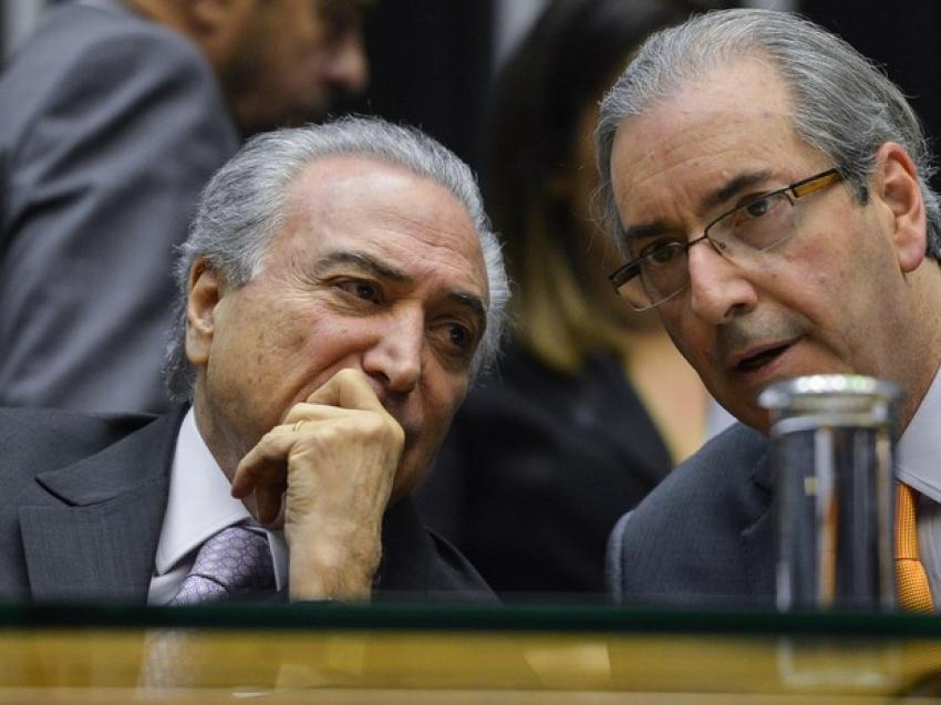 Temer teria dado aval para comprar silêncio de Eduardo Cunha (Foto: Reprodução)