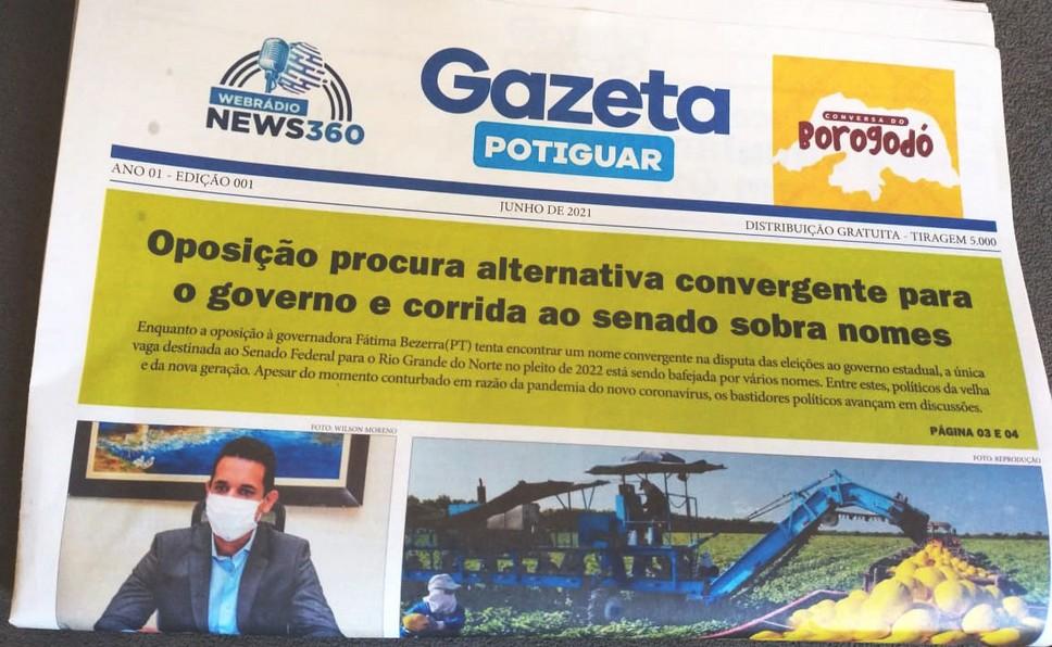 Gazeta Potiguar, o novo jornal impresso do RN, já está circulando – Costa  Branca News